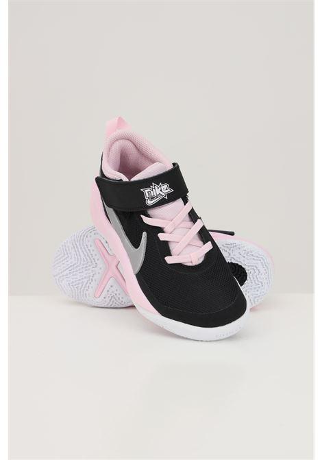Black pink baby team hustle d 10 sneakers nike  NIKE | Sneakers | CW6736003
