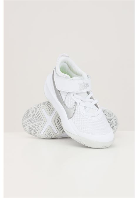 White baby team hustle d 10 sneakers nike NIKE | Sneakers | CW6736100