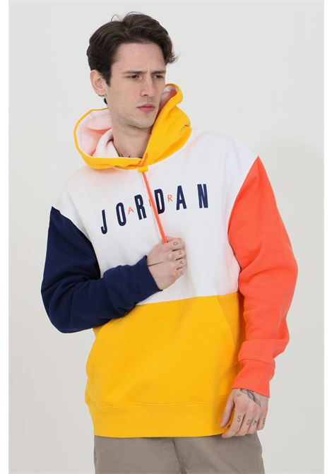 Hoodie with laces in color blocking style NIKE | Sweatshirt | CW8434100