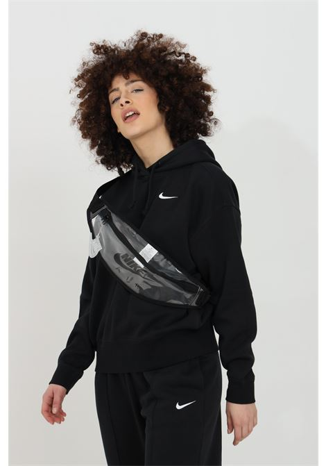 Felpa hoodie trend donna nero nike con cappuccio NIKE | Felpe | CZ2590010