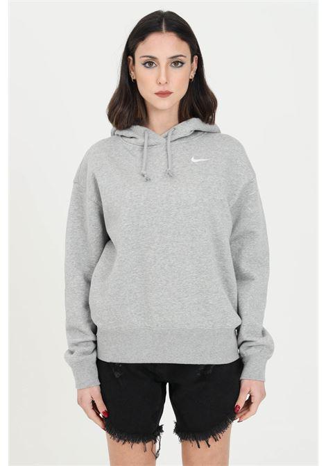 Felpa hoodie trend donna grigio nike con cappuccio NIKE   Felpe   CZ2590063
