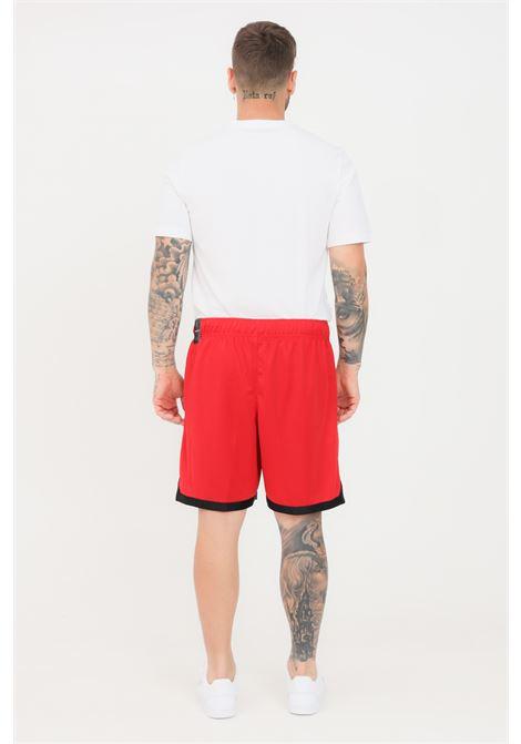 Red men's shorts with contrasting nike jordan logo  NIKE | Shorts | CZ4760687