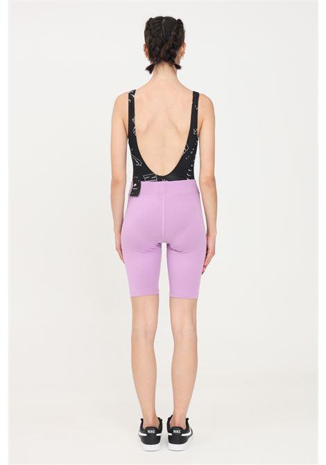 Shorts donna lavanda nike sport modello ciclista NIKE | Shorts | CZ8526591