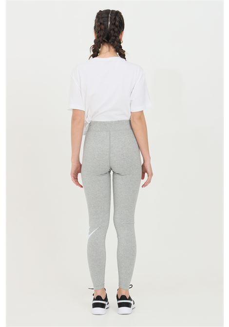 Leggings donna grigio nike NIKE | Leggings | CZ8528063