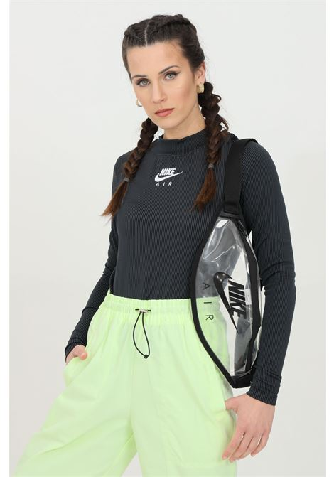 T-shirt with striped print and high collar NIKE | Knitwear | CZ8634010