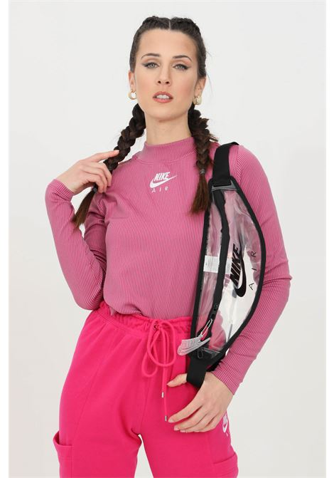 T-shirt with striped print and high collar NIKE | Knitwear | CZ8634531