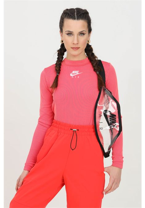 T-shirt with striped print and high collar NIKE | Knitwear | CZ8634615