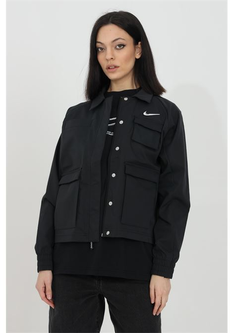 Over size wind jacket in solid color NIKE | Jacket | CZ8898010
