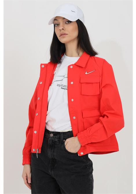 Over size wind jacket in solid color NIKE | Jacket | CZ8898696
