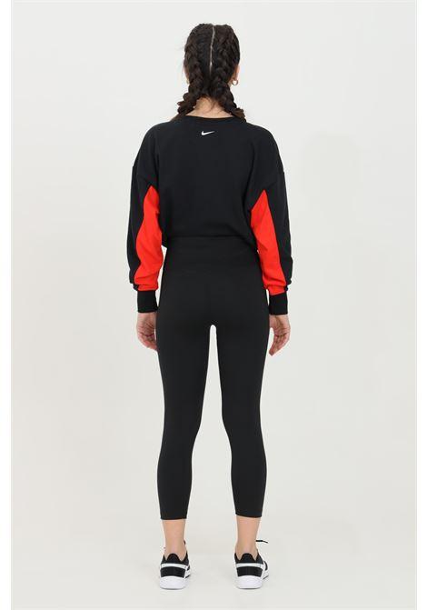 Leggings donna nero nike con stampa laterale NIKE | Leggings | CZ9202011