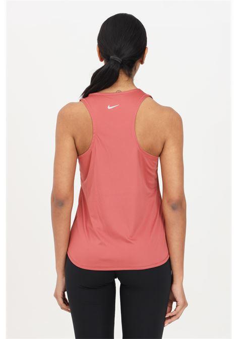 Pink women's tank top with contrasting logo nike NIKE | Top | CZ9311691