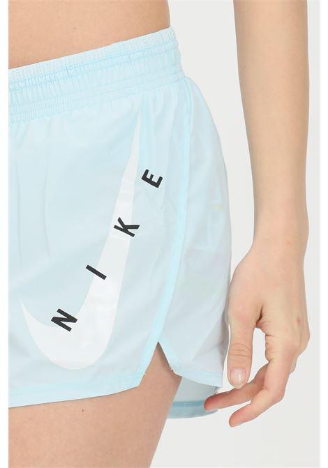 Turquoise shorts with contrasting logo. Nike  NIKE | Shorts | CZ9315474
