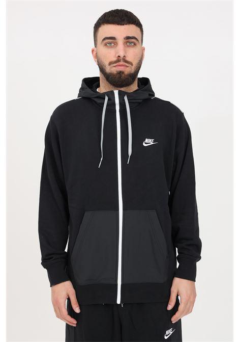 Black hoodie with front zip. Nike  NIKE | Sweatshirt | CZ9944010