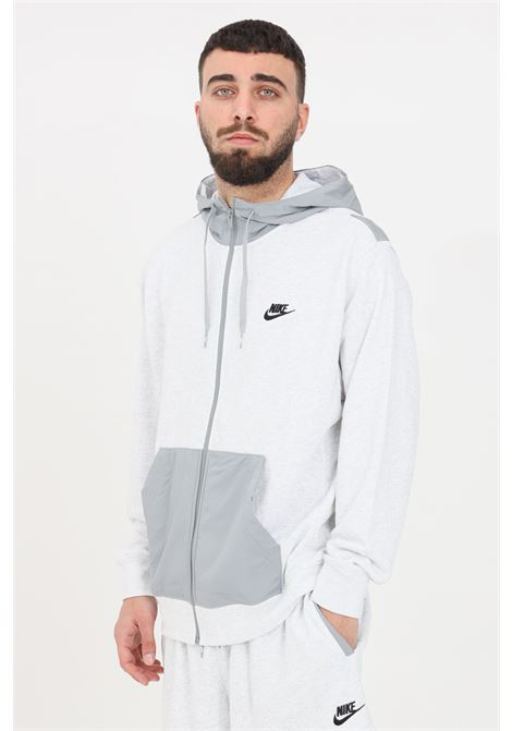 White hoodie with front zip nike NIKE | Sweatshirt | CZ9944051