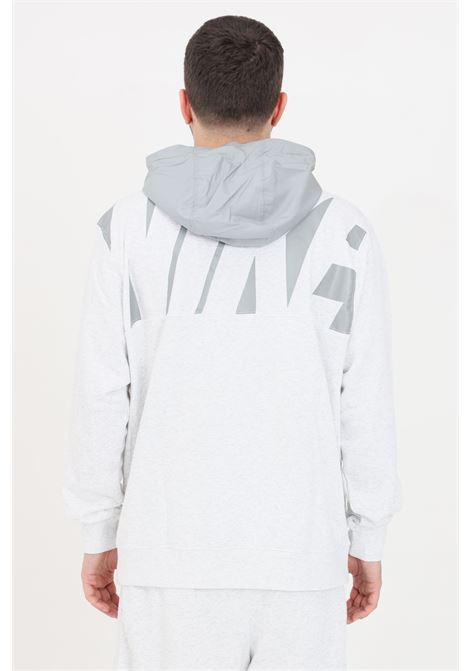Felpa uomo bianco nike con zip frontale NIKE | Felpe | CZ9944051