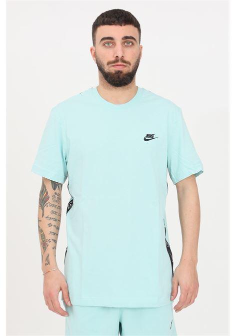 Turquoise t-shirt short sleeve nike NIKE | T-shirt | CZ9950382