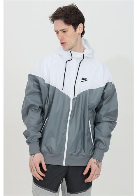 Giubbotto sportswear heritage essential windrunner grigio nike giacca a vento NIKE | Giubbotti | DA0001084