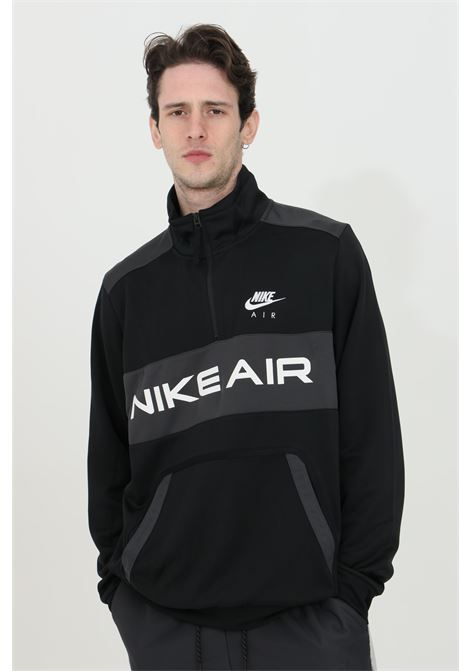 Sweatshirt with half zip and logo on the front NIKE | Sweatshirt | DA0203010