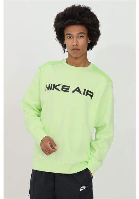 Two-tone crew neck sweatshirt with embroidered logo NIKE | Sweatshirt | DA0220383