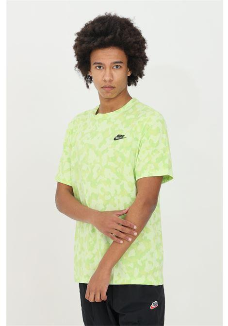 T-shirt uomo camouflage lime nike a manica corta NIKE   T-shirt   DA0469383