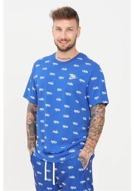 T-shirt uomo tinta unita nike con stampa all-over NIKE   T-shirt   DA0514480