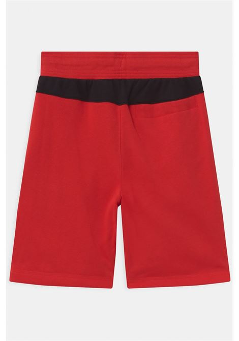 Red shorts with small logo on the front and side pockets. Baby model. Brand: Nike NIKE | Shorts | DA0706658
