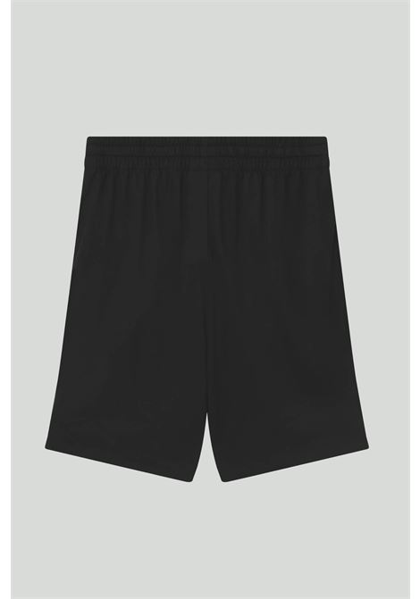 Black shorts with elastic waistband and front logo in contrast. Baby model. Brand: Nike NIKE | Shorts | DA0806010