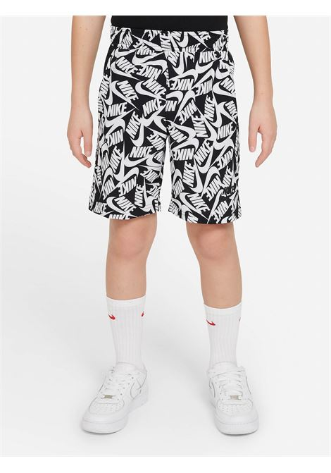 Shorts bambino fantasia nero nike con stampa pattern all-over NIKE | Shorts | DA0853010