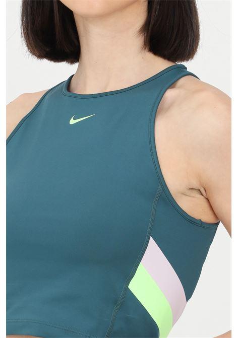 Top donna verde nike sport senza maniche NIKE | Top | DA0921393