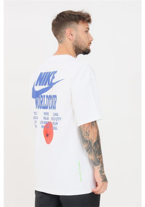 White men's t-shirt short sleeve nike  NIKE | T-shirt | DA0989100