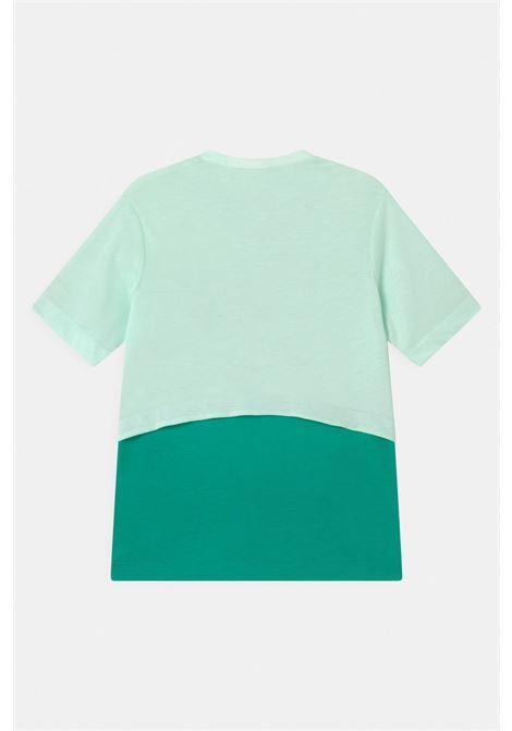 T-shirt bambina bicolore nike dri-fit trophy NIKE | T-shirt | DA1096394