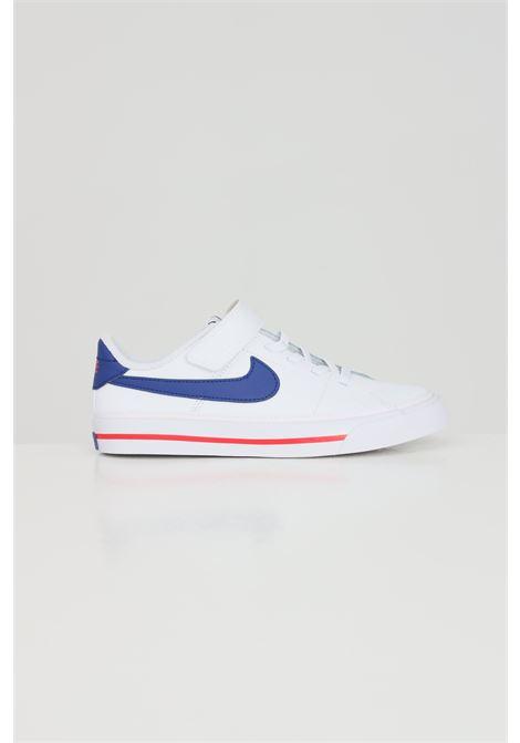 White baby nike court legacy psv sneakers  NIKE | Sneakers | DA5381107