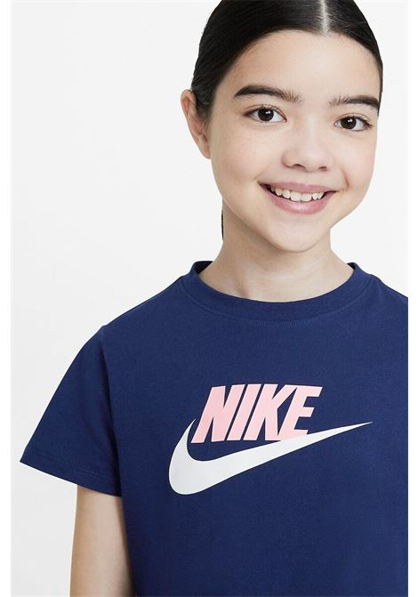 T-shirt bambina tinta unita crop NIKE | T-shirt | DA6925492
