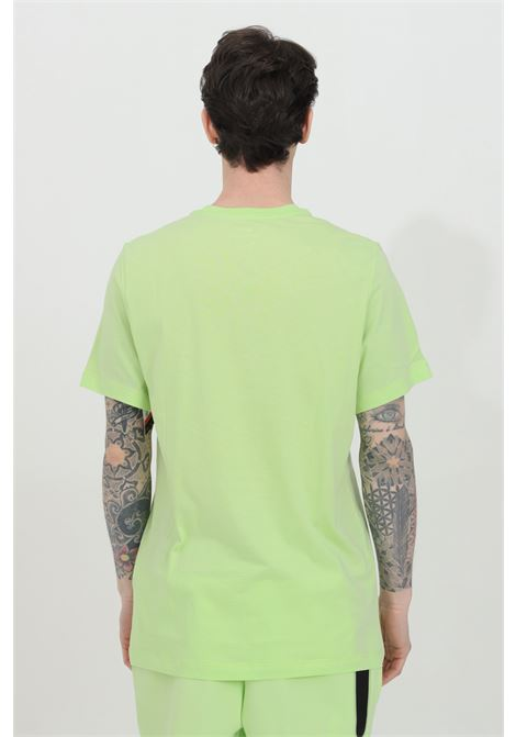 T-shirt uomo lime nike a manica corta con stampa tramonto NIKE   T-shirt   DB6163383