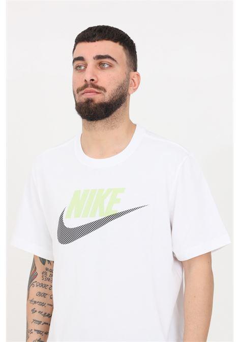 White t-shirt with front logo short sleeve nike NIKE | T-shirt | DB6523100