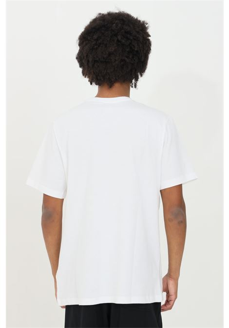 White t-shirt with maxi logo short sleeve nike NIKE   T-shirt   DC5094100