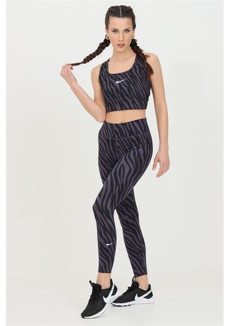 Leggings one 7/8 donna fantasia nike con stampa zebrata NIKE | Leggings | DC5276573
