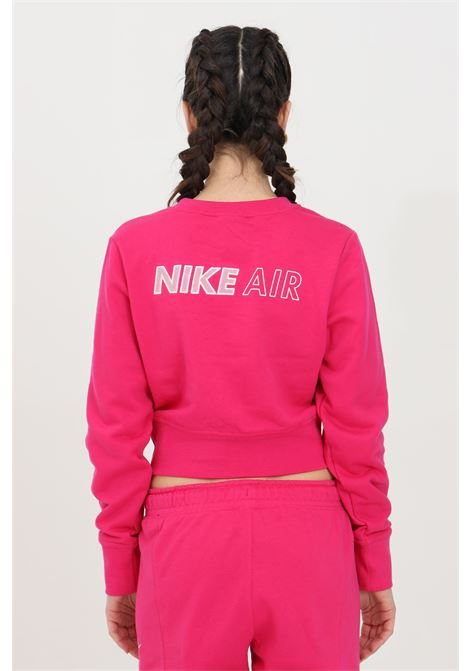 Sweatshirt with crop cut and spring at the waist NIKE | Sweatshirt | DC5296615