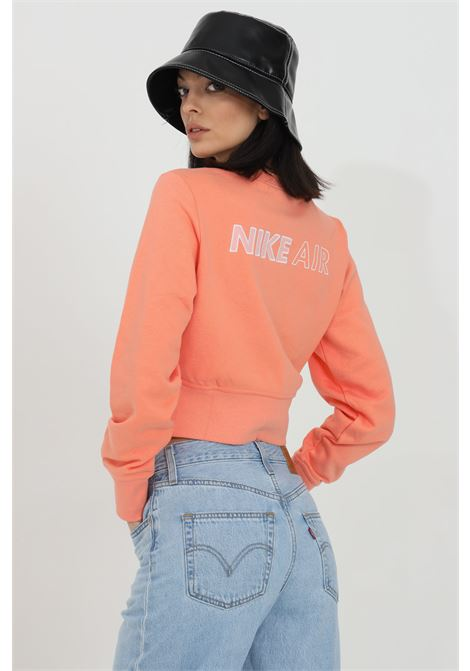 Sweatshirt with waist elastic band, short cut NIKE | Sweatshirt | DC5296693