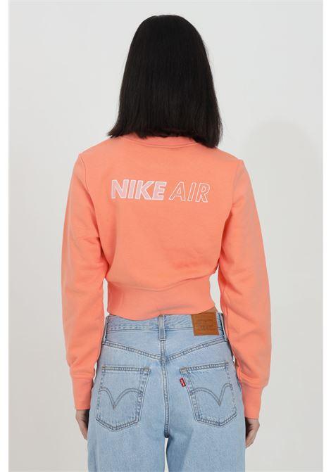 Sweatshirt with waist elastic band, short cut NIKE | Sweatshirt | DC5296693