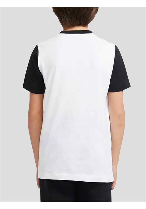 White black baby t-shirt with logo on the front nike NIKE | T-shirt | DC7511100