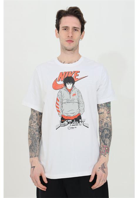 T-shirt air tee manga futura man uomo bianco nike a manica corta NIKE   T-shirt   DC9101100