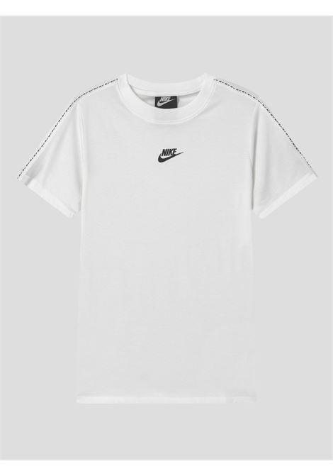 White baby t-shirt with logo bands nike NIKE | T-shirt | DD4012100