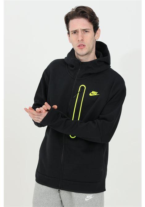 Black sportswear tech fleece hoodie with zip NIKE | Sweatshirt | DD5655010