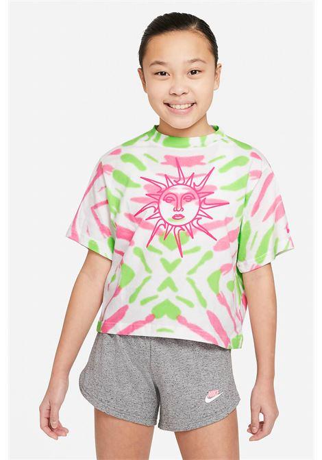 T-shirt bambina tie die nike girocollo NIKE | T-shirt | DD6876101