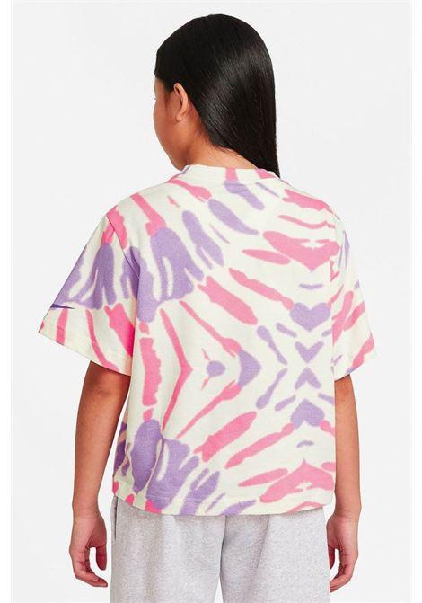 T-shirt bambina tie die nike girocollo NIKE | T-shirt | DD6876113
