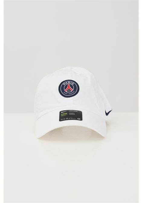 White unisex cap with front psg patch nike NIKE   Hat   DH2394100
