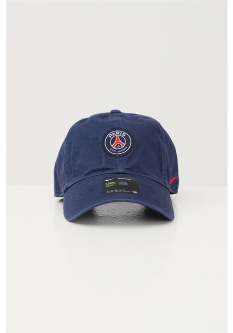 Blue unisex cap with front psg patch nike NIKE | Hat | DH2394410