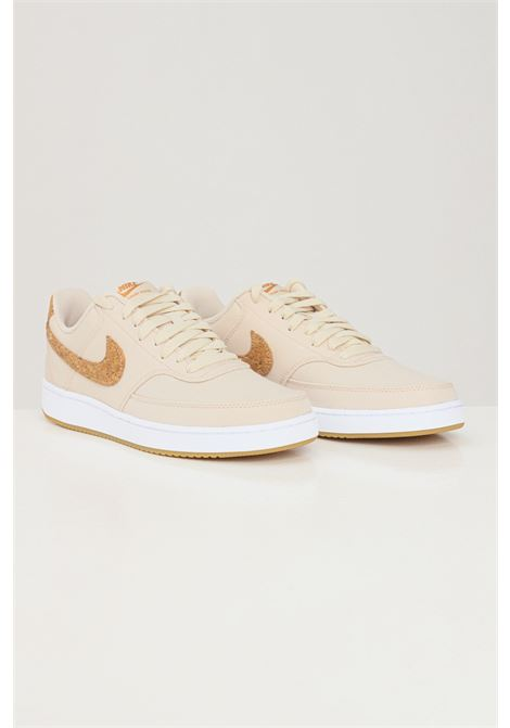 Sneakers court vision low unisex beige nike with cork inserts NIKE   Sneakers   DJ1976200