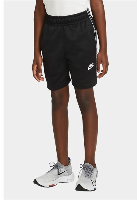 Shorts bambino nero nike con logo frontale NIKE | Shorts | DJ4013010